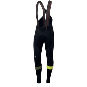 Sportful Bodyfit Pro Bibtights Men black/yellow fluo